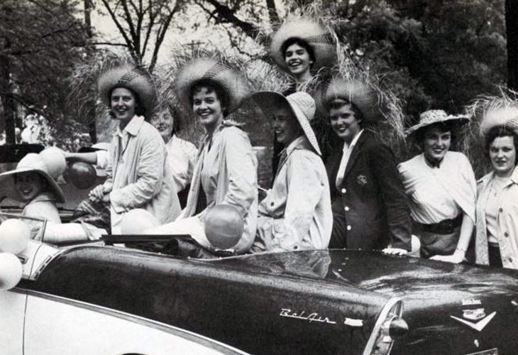 1958 students in car