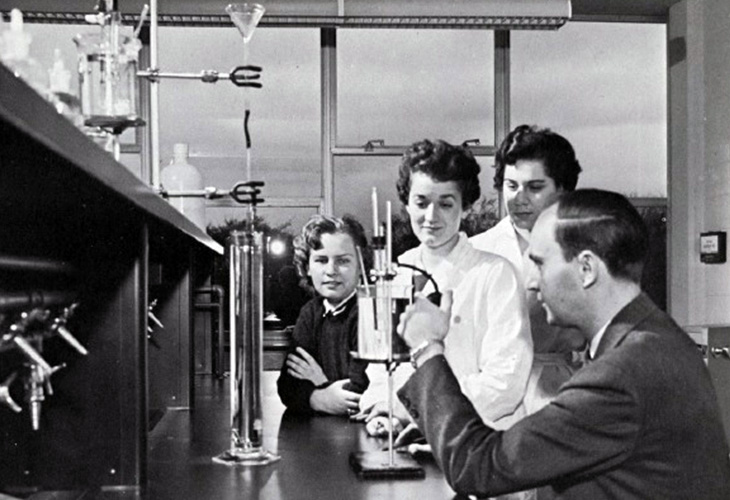 c. 1961 science lab