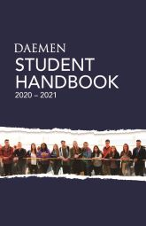 cover of student handbook