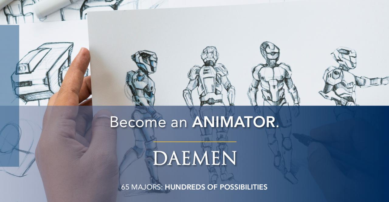 Become and Animator Banner